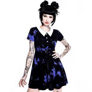 Killstar 'Dye Fast' dress in Violet
